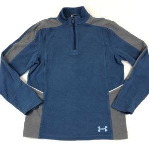 Under Armour Boys Half Zip Fleece Pullover